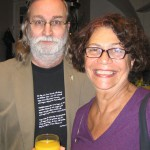 Sven Hallonsten och Ana Maria Machado