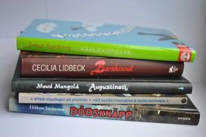 Nominerade böcker Barnens Romanpris Foto: Helene Almqvist/Sveriges Radio