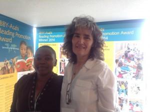 PRAESAs representanter Ntombizanele Mahobe och Carole Bloch